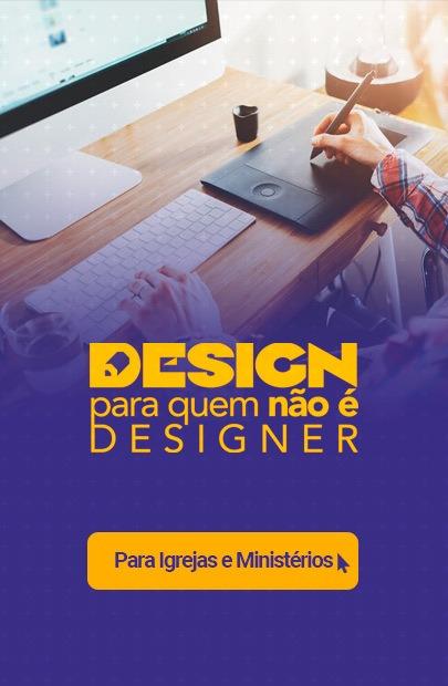 curso de design para quem não é designer