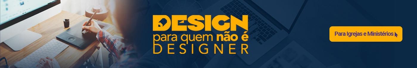 inscreva-se no curso de design para quem não é designer